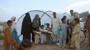 ShelterBox aid arrives in the Punjab