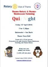 Quiz Night with Thame-Montesson Twinning