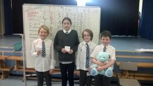 2018 Quiz District Winners - Milngavie Primary