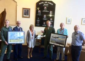 Rotary visit to RAF Valley