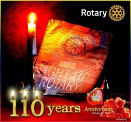 Rotary's 110th Birthday