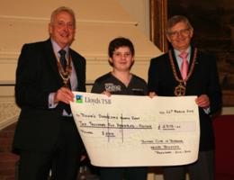 Swimathon 2012 - Cheque Presentations