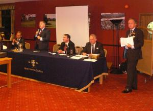 Rotary Club Hosts Business Forum ....14th Oct. 2011