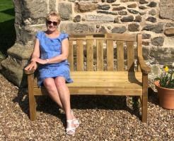 The New Bench Donated By The Rotary Club