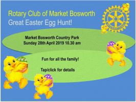 Great Easter Egg Hunt Sunday 28th April
