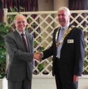 HANDOVER to new President & Team at POOLE YACHT CLUB