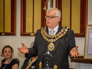 Visit by the Mayor and Mayoress of Stockport