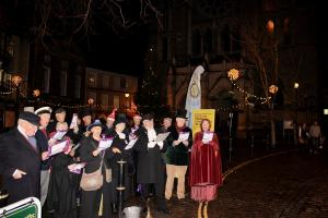 December 2018: Carol Singing in High Cross