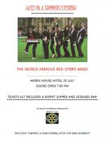 Red Stripe Band at Arden House