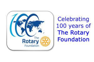 The Rotary Foundation centenary celebration.