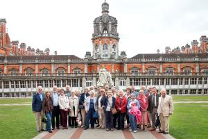 The Visit to Royal Holloway College