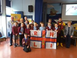 £1000 of pennies for RNLI