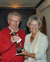 16 April 2012 - Bernice wins Club's golf trophy