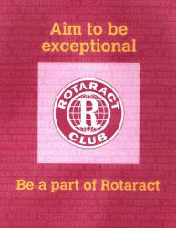 Form a NEW Rotaract Club