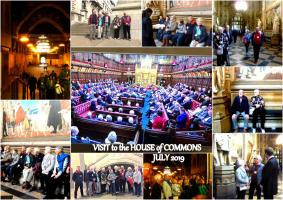 A visit to the House of Commons