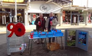 Normanton Rotarians assisting Royal British Legion