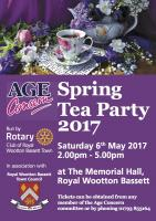 Age Concern Tea Party - Memorial Hall