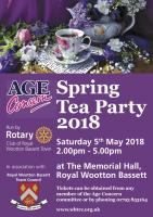 Annual RWB Senior Citizen's Tea Party on 5 May