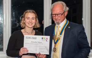 Rotary Young Leadership Award - Annabel Short