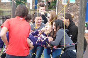 RYLA Spiders Web Exercise