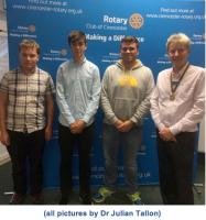 Young adventurers return to Rotary - RYLA