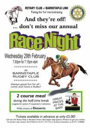 BARNSTAPLE LINK RACE NIGHT