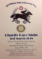 Charity Race Night  - Sat 28th April 2018