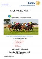 Race Night - 24 November