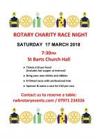 Race Night on 17 March raises over £500 for Youth Projects