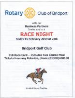 Race Night at the Golf Club