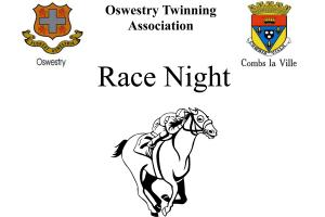 Oswestry Town Twinning Race Night @ Oswestry Cricket Club, Morda
