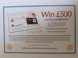 Christmas Raffle covering the whole of Sunbury & Shepperton