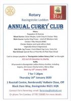 Raj Curry Night