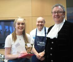 Winner of the North West Regional Young Chef Final