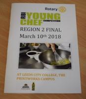 Young Chef Regional Final 2018