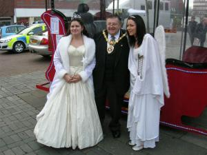 The Reindeer Parade in Crewe 2007