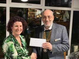 RCPR Donates over £2,800 to Rennie Grove Hospice Care