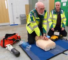 Support to Lutterworth Community First Responders