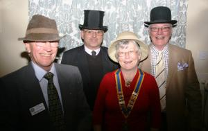 8pm Business & Malcolm Davies, speaking on 'Hats' - Partners Evening