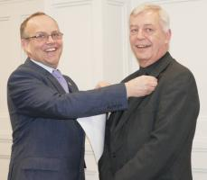 The Rotary Club of Rayleigh Mill welcomes Richard Jennings back to the club as an Associate Member