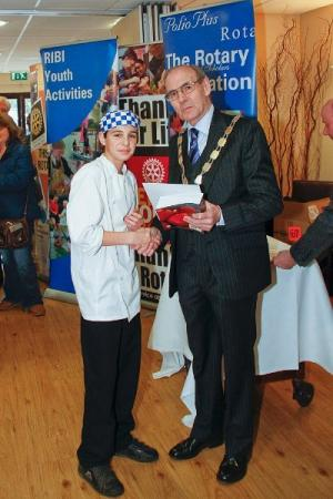 2nd Round Rotary Young Chef