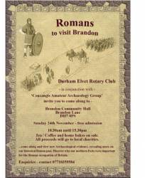 Romans to visit Brandon