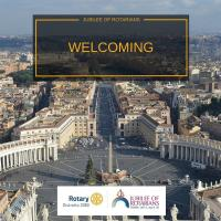 Jubilee for Rotarians with the Pontiff in Rome