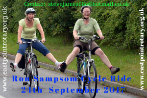 Ron Sampson Charity Cycle Ride - 24th September 2017  (Lowestoft Charity Cycle Ride)