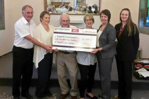 Donation to Rosemere Cancer Foundation