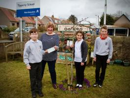 Tipperty RotaKids plant crocuses and raise funds for End Polio Now