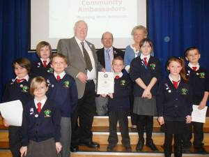 Young Rotarians launch club with Crocus Appeal