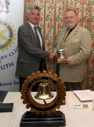 Rotary Club of Redruth - Rotarian of the Year