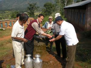 Having success implementing your project to provide  health education, improved water, and hygienic toilets in Baluwa, Nepal.