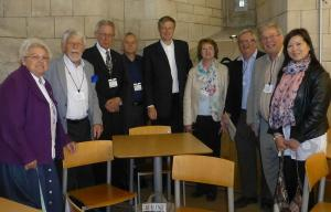 Club visit to the House of Commons, 3rd June 2015.